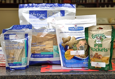 Nutritional Treats at Tri-County Animal Hospital